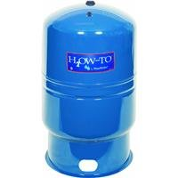 WaterWorker HT-30B Vertical Pressure Well Tank, 30-gallon tank with 26-gallon capacity, Blue by Water Worker (Image #1)