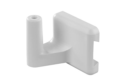 JR Products White QQ-HKPW-A Exterior Shower Head Bracket