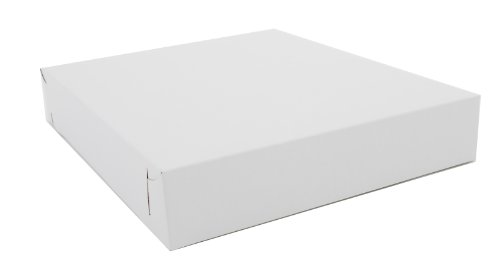 Southern Champion Tray 2005 Clay Coated Kraft Paperboard White Lock Corner Donut Tray, 12
