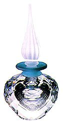 Flacon Perfume Bottle - Swarovski Oriental Flacon /Perfume Bottle