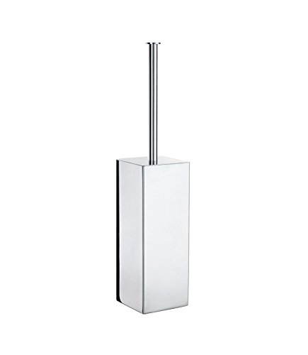 Smedbo SME FK601 Toilet Brush Free Standing, STAINLESS STEEL POLISHED, (Toilet Brush Smedbo Outline)
