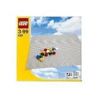 LEGO 628 Base de construcción gris extra grande