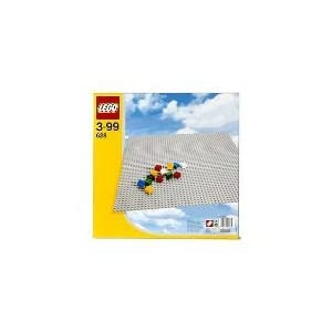 LEGO 628 Extra Large Grey Building Baseplate - 21nw3Qg2eNL - LEGO 628 Extra Large Grey Building Baseplate