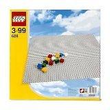 Extra Large Grey Base Plate (LEGO 628 Extra Large Grey Building Baseplate)