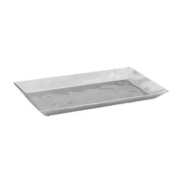 Display Tray Rectangular Stainless Steel 13.75'' x 7.5''