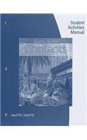 Read Online SAM for Valette/Valette's Contacts: Langue et culture fran?aises, 9th 9th (ninth) Edition by Valette, Jean-Paul, Valette, Rebecca M. published by Cengage Learning (2013) pdf epub
