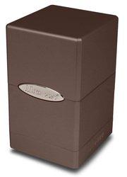 Ultra Pro Metallic Dark Chocolate Satin Tower Deck Box