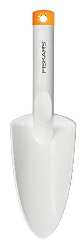 Fiskars Trowel, Length: 29.1 cm, White/Orange, FiberComp/Steel, Light, 1027032
