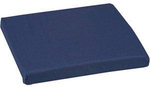 16' Wheelchair Cushion - Mabis Standard Polyfoam Wheelchair Cushion, 16' x 18' x 3', Navy 513-8021-2400