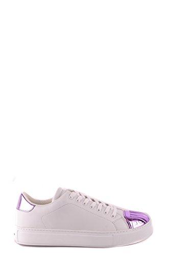 MCBI242226O Pinko Baskets Blanc Femme Cuir 55rZf