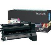 10n0026 Cartridge (Genuine NEW Lexmark C7700MS Magenta Toner Return Program Cartridge)