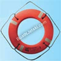 (JIM BUOY P 17 Plastic Life Ring, White, 17 by Jim-Buoy)