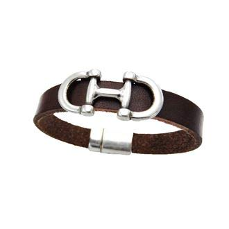 - Lilo Collections Bilbao Bit Bracelet, Brown