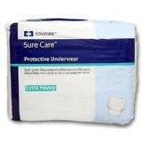 SureCare Protective Underwear Heavy Absorbency Size XL Case/56 (4 bags of 14)