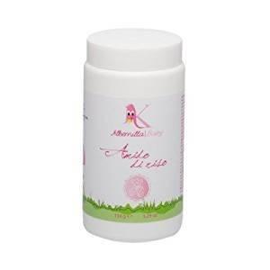 ALKEMILLA - Reisstärke - Alternative zum Badreiniger - Mit Malve und Kamille - 100% natürliche - Erfrischung & Erweichung - 150 g