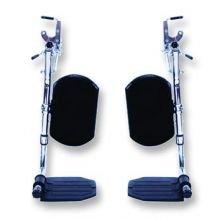 Package Of 2 Elevating Leg Rests Composite -SP