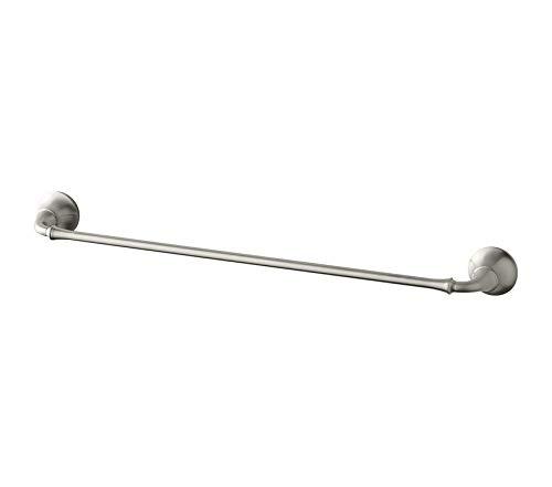 Premium FortÉ, Bathroom 24-Inch Towel Bar, Vibrant Brushed Nickel