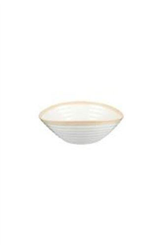 (Portmeirion Dinnerware, Sophie Conran Carnivale Biscuit Cereal Bowl)