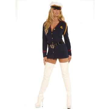 [Plus Size Gentleman's Officer Sailor Costume - Womens 3X-4X (22-24)] (Plus Size Sexy Sailor Costumes)