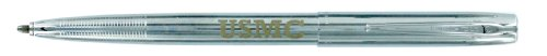- US Marine Chrome Fisher Space Pen USMC Engraved