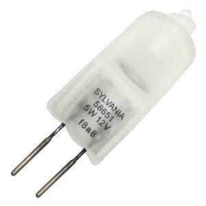 Sylvania 58651 - 5T3Q/F 12V Bi Pin Base Single Ended Halogen Light (Subminiature Bi Pin)