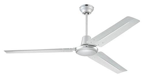 Westinghouse 7250140 Industrial Ventilateur de plafond Métal argent product image