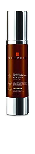 - Theorie Marula Oil Transforming Hair Serum for Anti-Frizz Treatment, Moisture Retention, and Protection - 3.4 fl oz (100mL)