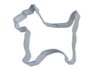 R&M Cookie Cutter, 2.5-Inch, Scottie, Tinplated - Cookie Scotty Cutter Dog