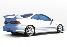 (Wings West 890080L - Acura Integra 2Dr Racing Series Left Side Skirt)