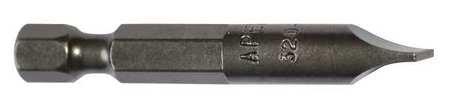 (Power Bit 6F-8R Slotted 1/4 Inch Shank)