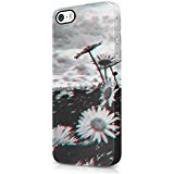 Trippy Daisy Grunge Tumblr Hard Plastic iPhone 5 / iPhone 5S Phone Case Cover