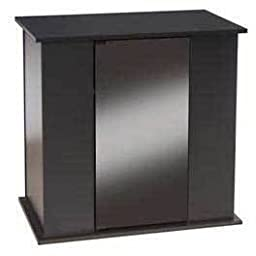 Perfecto Manufacturing APF70822 Simple Modern Stand for Aquarium, 30 by 18-Inch, Black