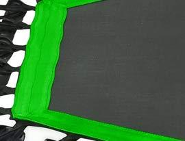 Sportplus Silent Fitness Mini Trampoline - Replacement Mat (Green)