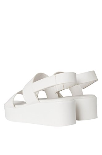Cher Is That You Platform Sandal White K64nb19Y