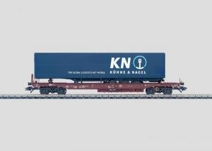 MHI (Märklin) 47443 - Güterwagen - Taschenwagen beladen mit Sattelanhänger Modelleisenbahn / Güterwagen Modelleisenbahn / Wagen