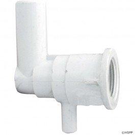 Waterway Plastics 212-0550 0.375 x 0.75 in. Water Slip Barb Ozone Cluster Jet Body