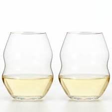Riedel Swirl Stemless White Wine Glass, Set of 6