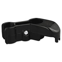 Rubbermaid 2535CT Lobby Pro Upright Dust Pan Hanging Bracket, Black - 6 Each/Carton ()