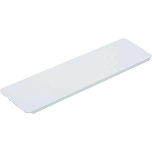 hd 3-5/8W x 13-3/16'' Replacement Medicine Cabinet White Metal Shelf Package 12 by hd