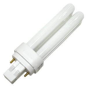 2 Pin Base Quad (GE 97589 - F13DBX23/841/ECO - 13 Watt Quad Tube Compact Fluorescent Light Bulb, 2 Pin, 4100K)