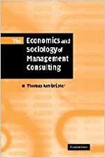 Book The Economics and Sociology of Management Consulting