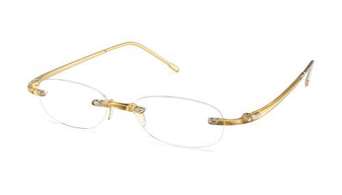Scojo New York Gels GOLD Reading Glasses (+2.25 Magnification - Eyewear New York