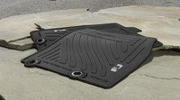 2014 FJ Cruiser All-Weather Floor Mats (Color: Black) (Toyota Fj Cruiser Custom Mats)