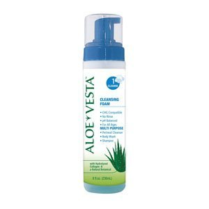 Aloe Vesta Cleansing Foam, 8 oz. Bottle (Case of 12)