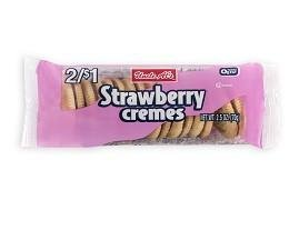 (Uncle Al's Strawberry Creme Cookies - 2.5 oz (Pack of 12))