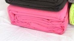 100% Cotton Twin Xl Jersey Knit Sheet Set - Pink Twin Extra Long