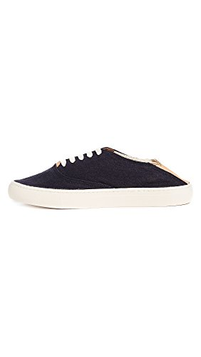 Soludos Mens 3000073 Convertible Lace Midnight Blue