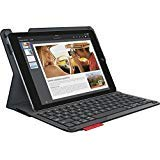 Logitech Type+ Protective Case with Integrated Keyboard for iPad Air 2, Carbon Black -(Renewed)