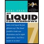 Avid Liquid (Avid Liquid for Windows Visual Quickpro Guide (06) by Ekert, Paul [Paperback (2005)])