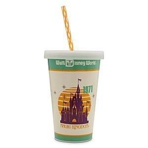 Disney Ceramic Travel Coffee or Soda Mug - Retro Walt Disney Magic Kingdom 1971 - Walt Disney World Coffee
